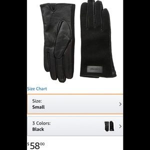 NewCalvin Klein gloves 100 percent genuine leather
